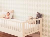 Détail chambre d'enfant