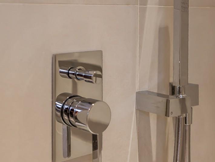 Détails de la douche