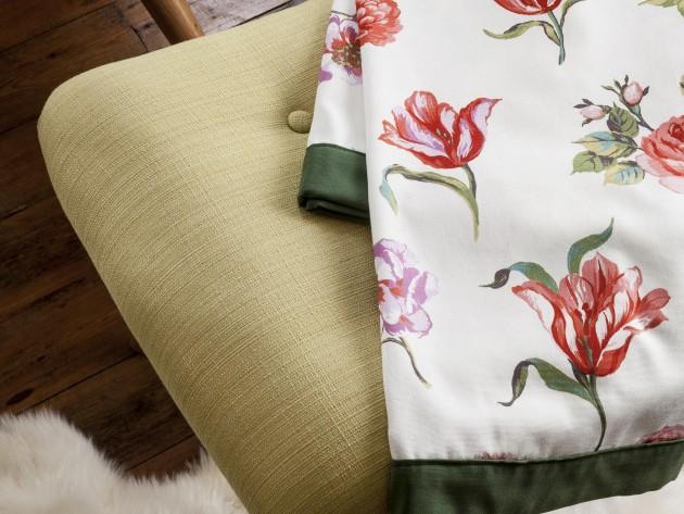Différentes matières de textiles