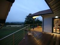 Eclairage terrasse bois