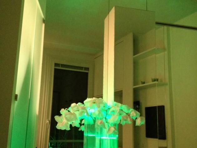 Élément de décoration végétal