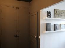 Entrée de l'appartement style loft