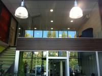 Entrée des bureaux de l'entreprise ALU Concept