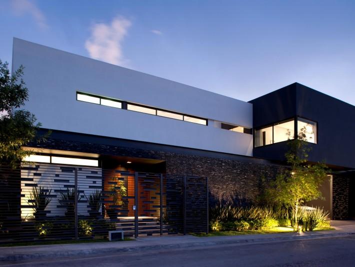 maison de luxe tec glr arquitectos entr e ext rieure maison id. Black Bedroom Furniture Sets. Home Design Ideas