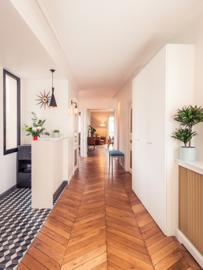 grand appartement haussmannien 180m2 id. Black Bedroom Furniture Sets. Home Design Ideas