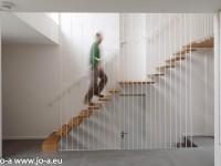 Escalier à claire voie