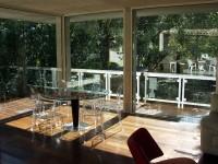 Extension aménagé en salle à manger