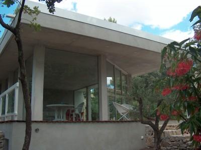 Extension d'architecture contemporain