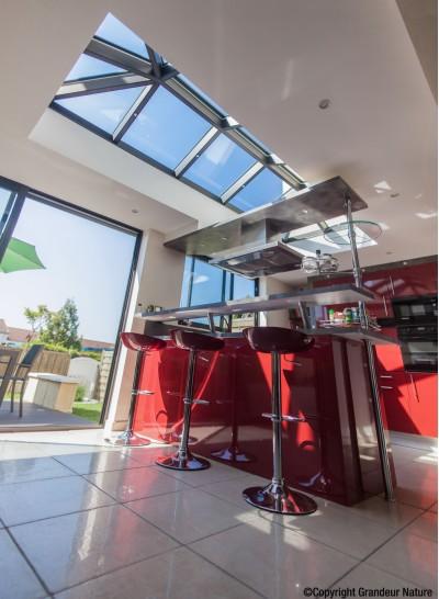 Extension veranda cuisine