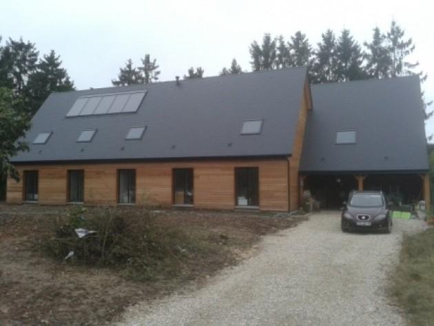 Grande maison bois en Eure et Loir
