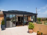 Faire une veranda sur une terrasse