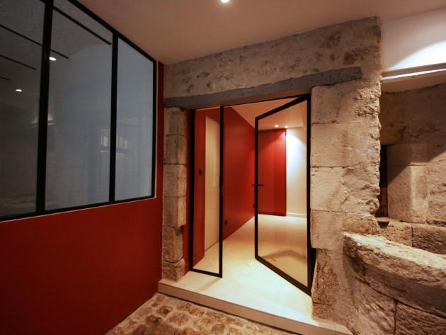 restructuration duplex atelier o 39 carr fenetre 3 vantaux id. Black Bedroom Furniture Sets. Home Design Ideas