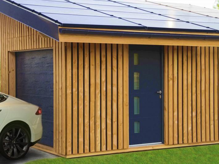 Garage bois haut de gamme Solaire Box