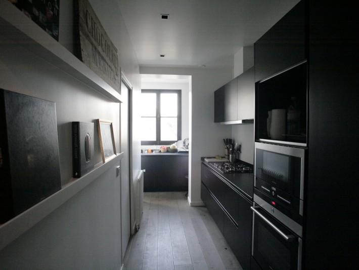 Renovation Appartement Style Loft Ouest Home Grande Cuisine En