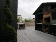 Grande terrasse en bois