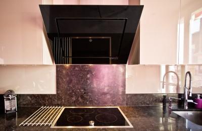 Hotte aspirante de cuisine design