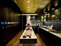 Intérieur du chocolatier Bello & Angeli