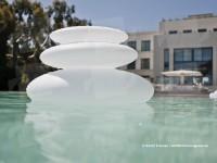 Lampe flottante piscine