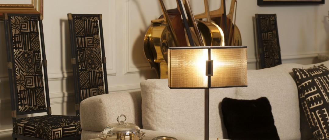 Lampe salon design
