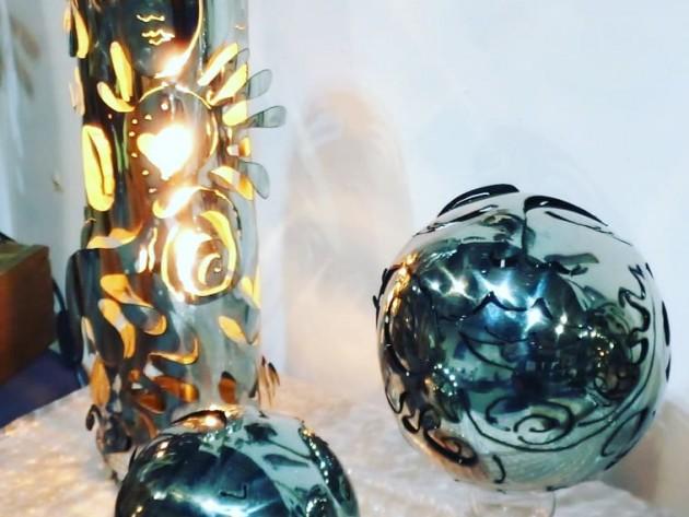 Lumières et Bulles sculptées