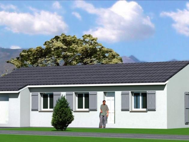 Deco exterieur maison plain pied id e for Assurance maison avec dossier criminel