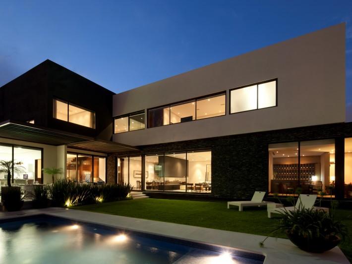 Maison en L