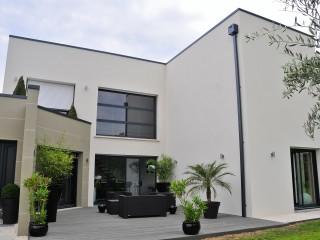 Maison individuelle d'architecture contemporaine