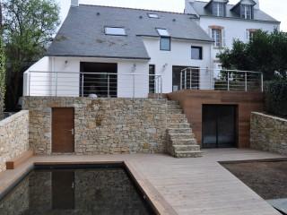 Maison vu du jardin