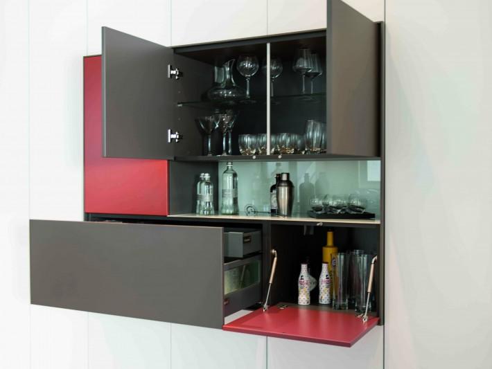 Salon Loft Schmidt Meuble Avec Bar Integre Ideesmaison Com