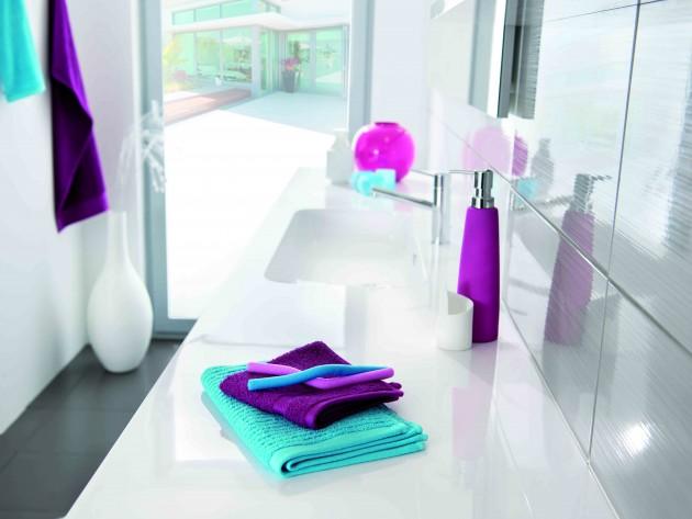 salle de bains strass schmidt meuble de lavabo blanc. Black Bedroom Furniture Sets. Home Design Ideas