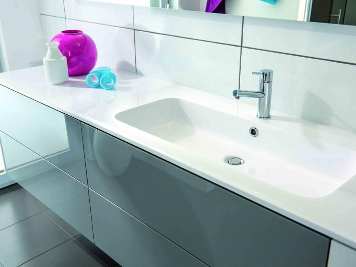 salle de bains strass schmidt meuble de salle de bain With salle de bain design avec lavabo encastrable