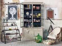 Meubles de rangements : vaisselier et étagère