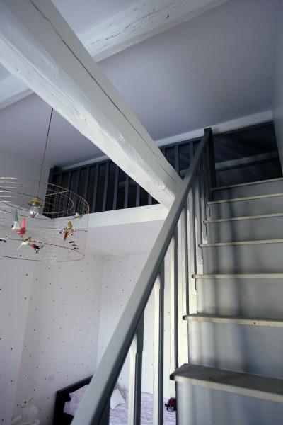 Photos sur le th me lustre voliere id for Mezzanine chambre petite