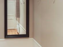 Miroir debout dans l'entrée
