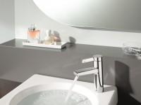 Mitigeur de lavabo cylindrique