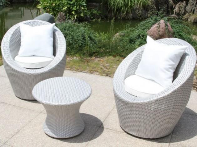 Mobilier jardin ma maison mon jardin mobilier de for Petite table de jardin en resine tressee