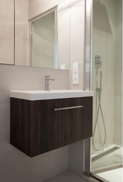 decoration design appartement r novation parisienne id. Black Bedroom Furniture Sets. Home Design Ideas