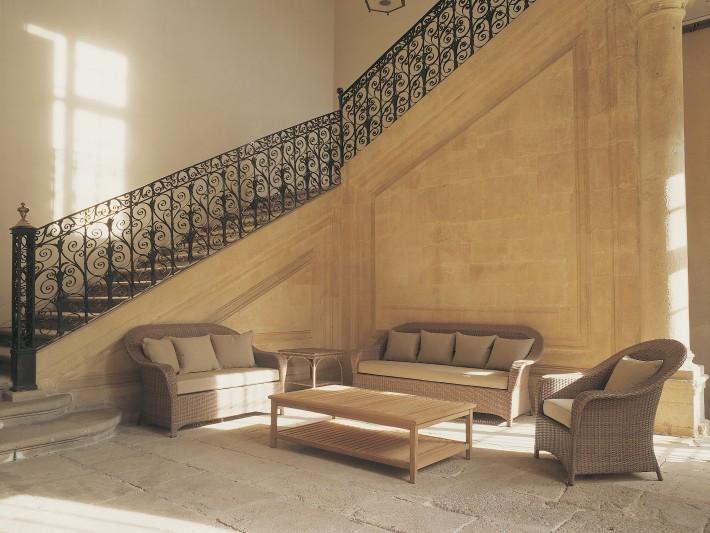 mobilier de jardin design tectona mobilier jardin r sine tress e id. Black Bedroom Furniture Sets. Home Design Ideas