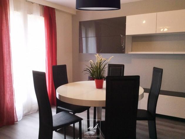 salon salle manger noir photo salon salle manger noir page 15 id. Black Bedroom Furniture Sets. Home Design Ideas