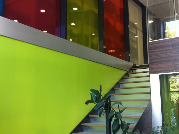 Montée d'escalier de l'entreprise ALU Concept