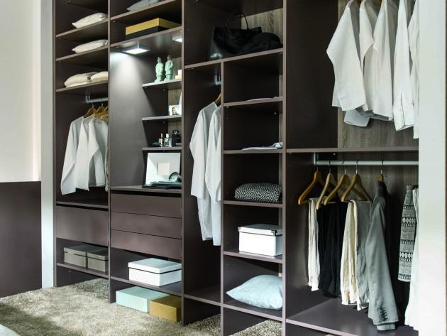 rangement chambre schmidt nombreux espaces de rangements dans armoire dressing id. Black Bedroom Furniture Sets. Home Design Ideas