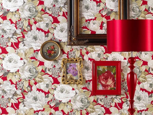Papier Peint Arosa Ruby Prestigious Textiles