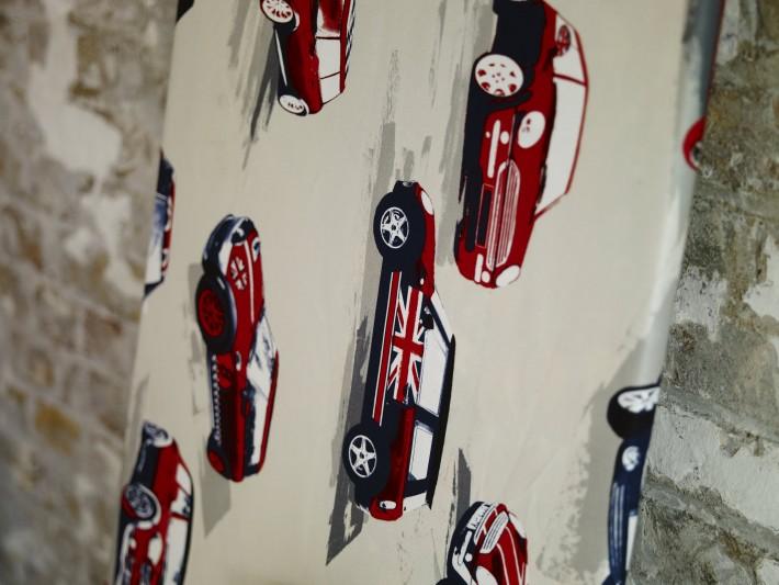 Papier peint décoratif Collection Diva / Moto