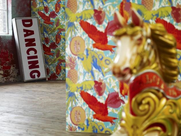 textiles diva prestigious textiles papier peint. Black Bedroom Furniture Sets. Home Design Ideas