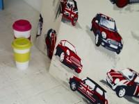Papiers peints aux motifs de voiture Mini