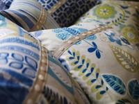 Patchwork de coussins décoratifs