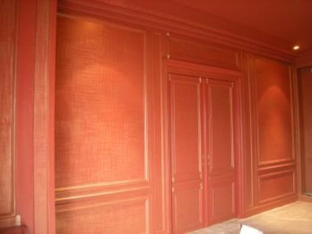 peintures de d cor patine dor e salle manger. Black Bedroom Furniture Sets. Home Design Ideas