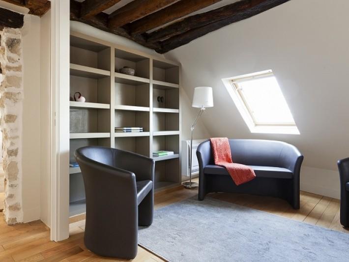 am nagement appartement duplex except design petit salon coin lecture id. Black Bedroom Furniture Sets. Home Design Ideas