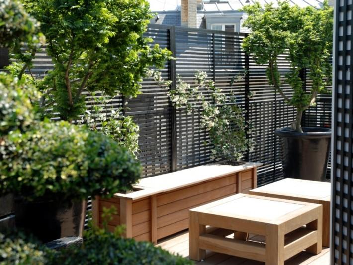 R alisation terrasse bois fiorellino petit salon ext rieur avec mobilier en bois for Mobilier exterieur bois