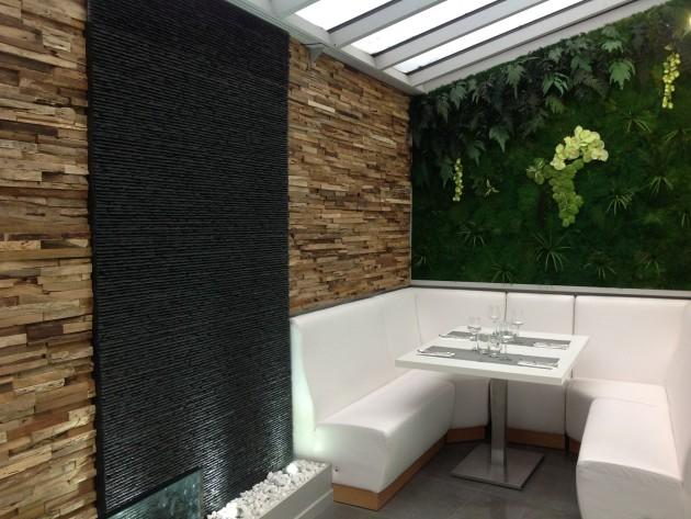 Petit salon privé dans restaurant